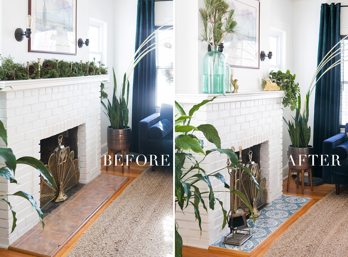 My Easy And Inexpensive Diy Fireplace Makeover A