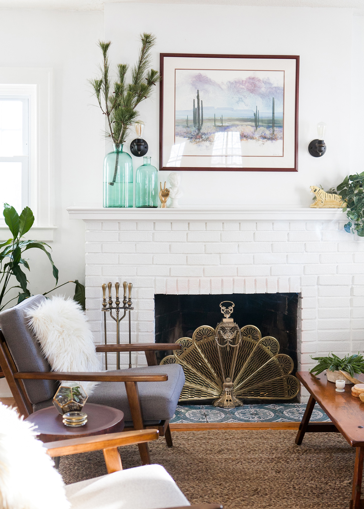 My Easy (and Inexpensive!) DIY Fireplace Makeover + A GIVEAWAY ...