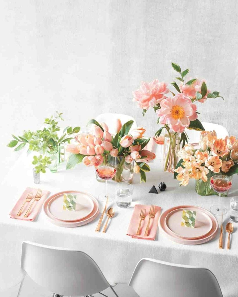 Four Modern Easter Tablescapes That Slay | Easter Table Setting | Jessica Brigham | Magazine Ready for Life