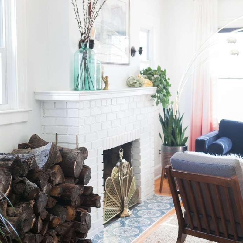 DIY Firewood Rack   Log Holder   Jessica Brigham   Magazine Ready for Life
