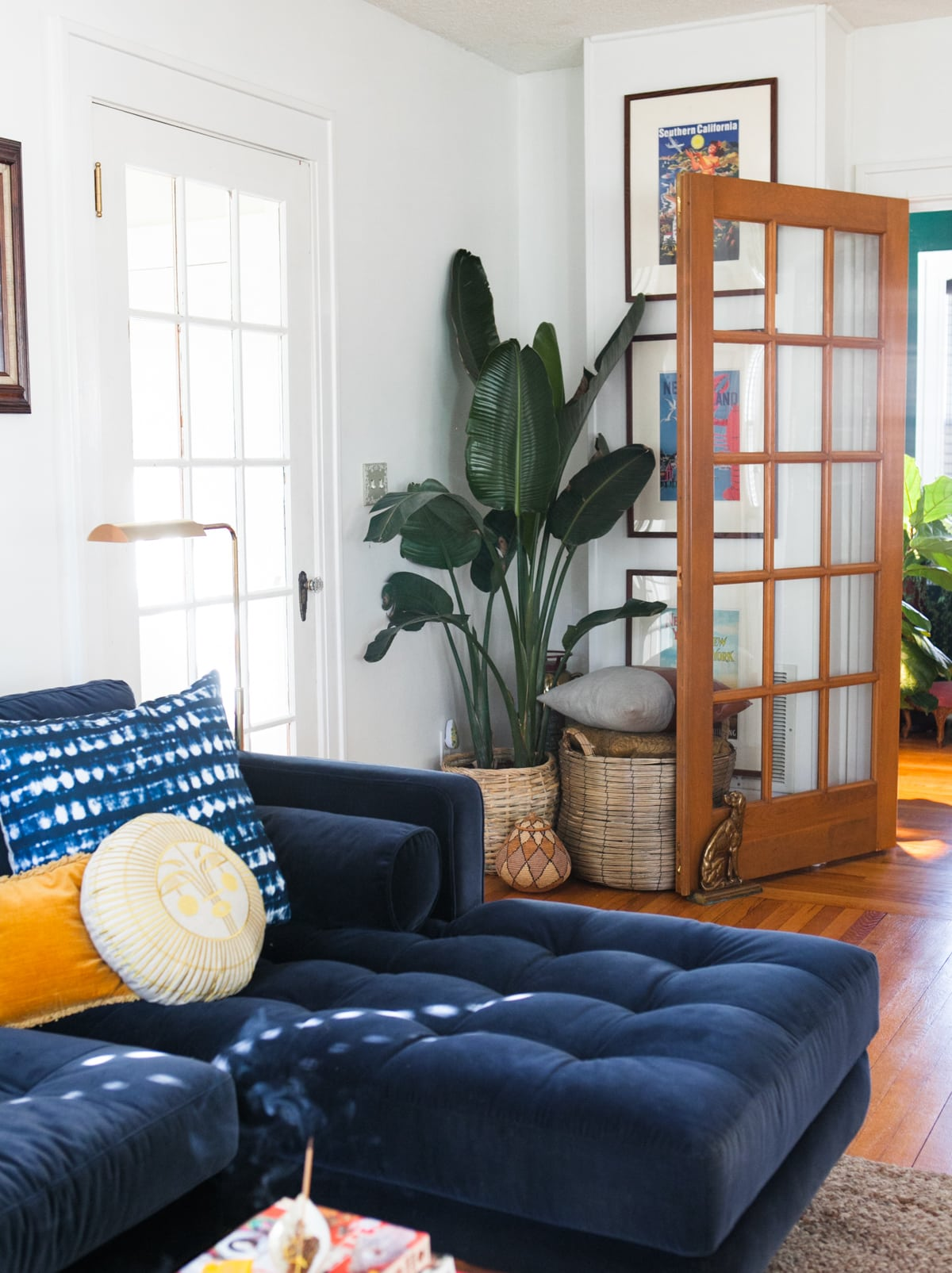 Modern Eclectic Glam Spring Home Tour 2018 | Jessica Brigham | Magazine Ready for Life