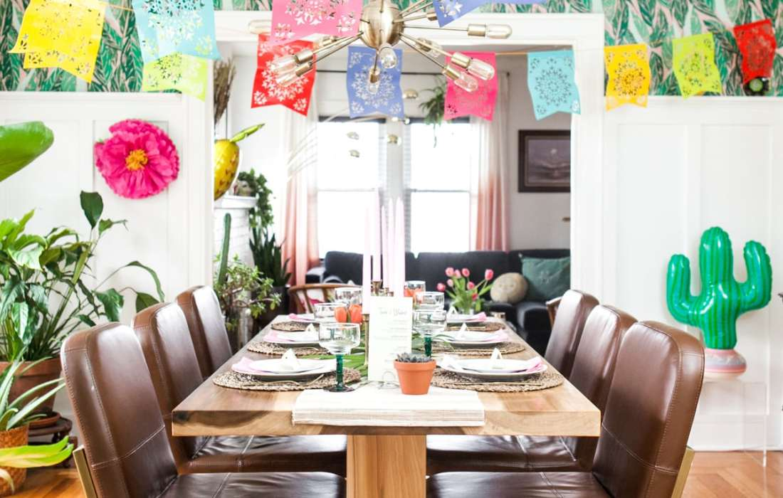 Fiesta Time! A Colorful Cinco de Mayo Dinner Party + FREE PRINTABLE!