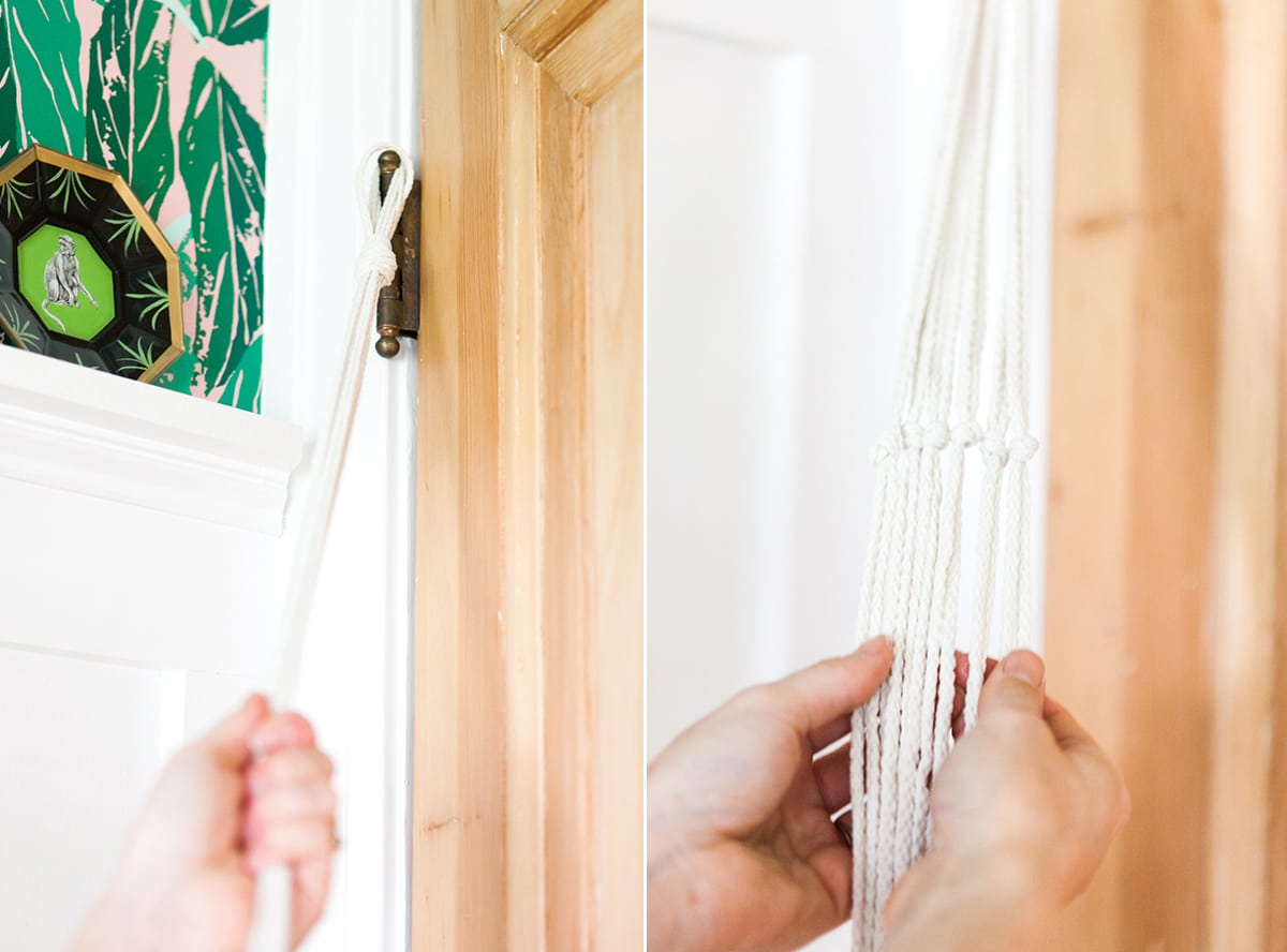 DIY Macrame Plant Hanger   How To   Hanging Plants   Jessica Brigham   Magazine Ready for Life