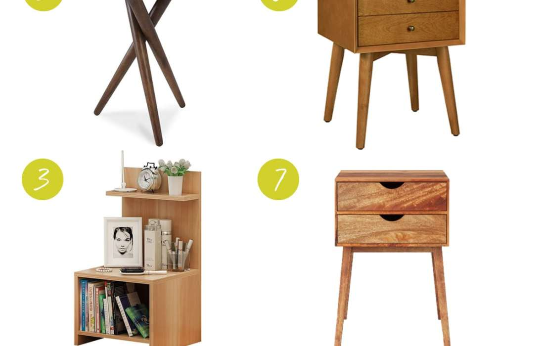 Eight Nightstands Under $150 That'll Make You Coo
