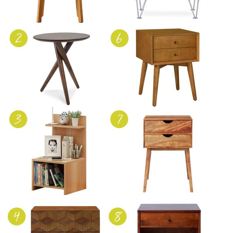 Eight Nightstands Under $150 That'll Make You Coo | Bedroom Decor Ideas | Jessica Brigham | Magazine Ready for Life