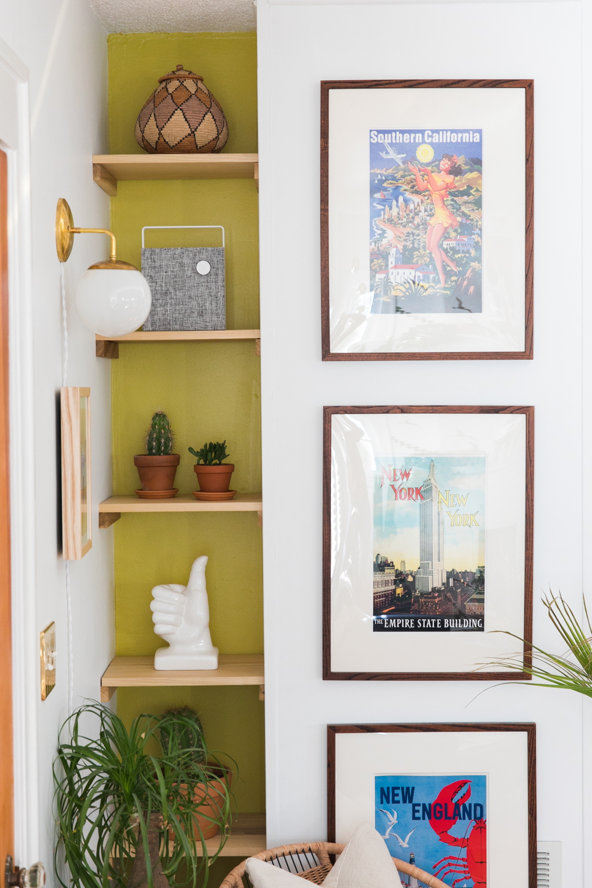 Make The Best Of Awkward Spaces With This Diy Bookshelf Jessica