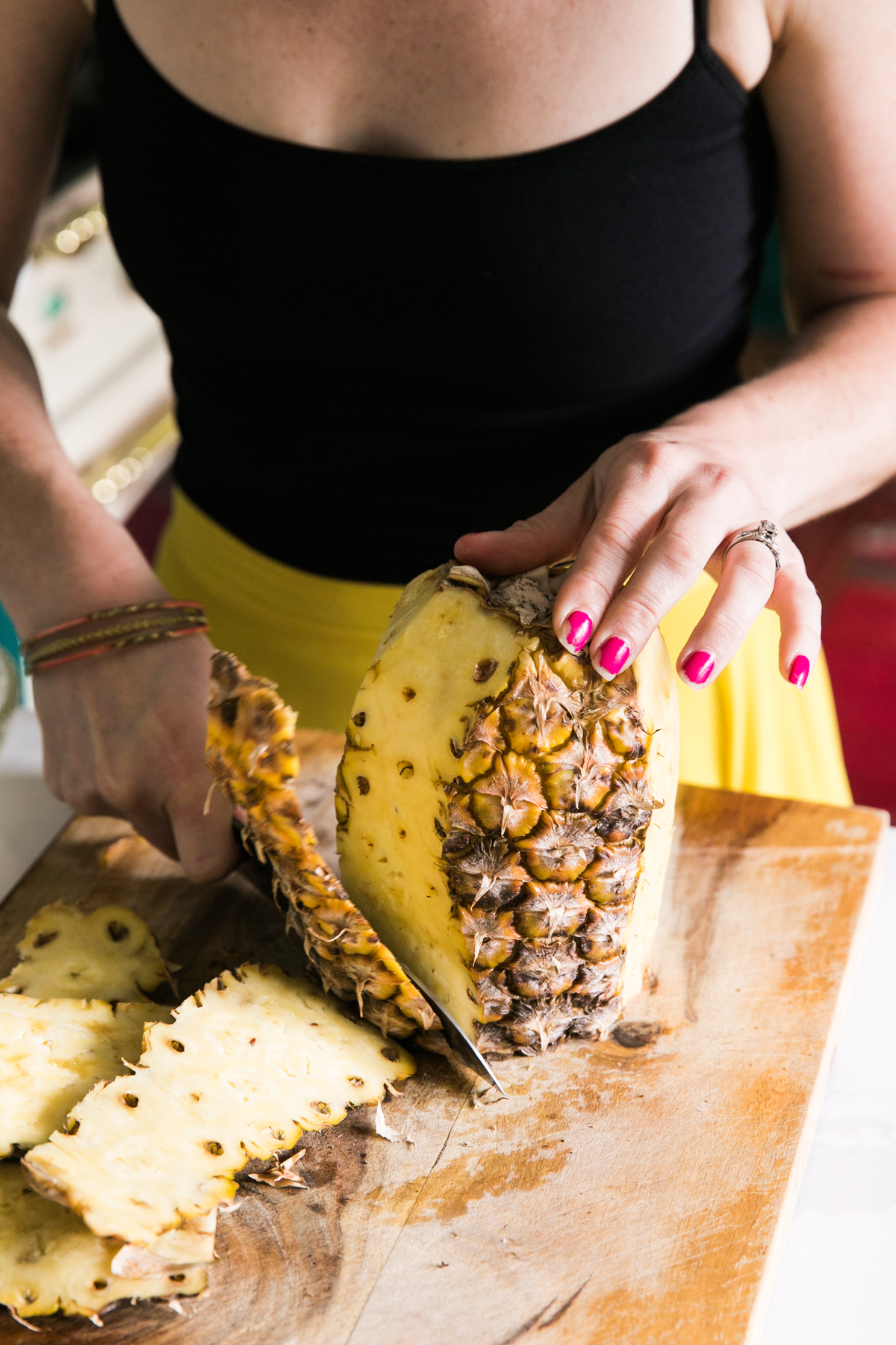 Grilled Pineapple and Jalapeño Margarita   The Spicy Señorita   Summer Cocktails   Tequila Cocktails   Jessica Brigham   Magazine Ready for Life