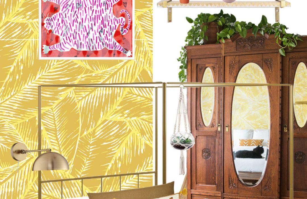 Boho Glam Master Bedroom Refresh
