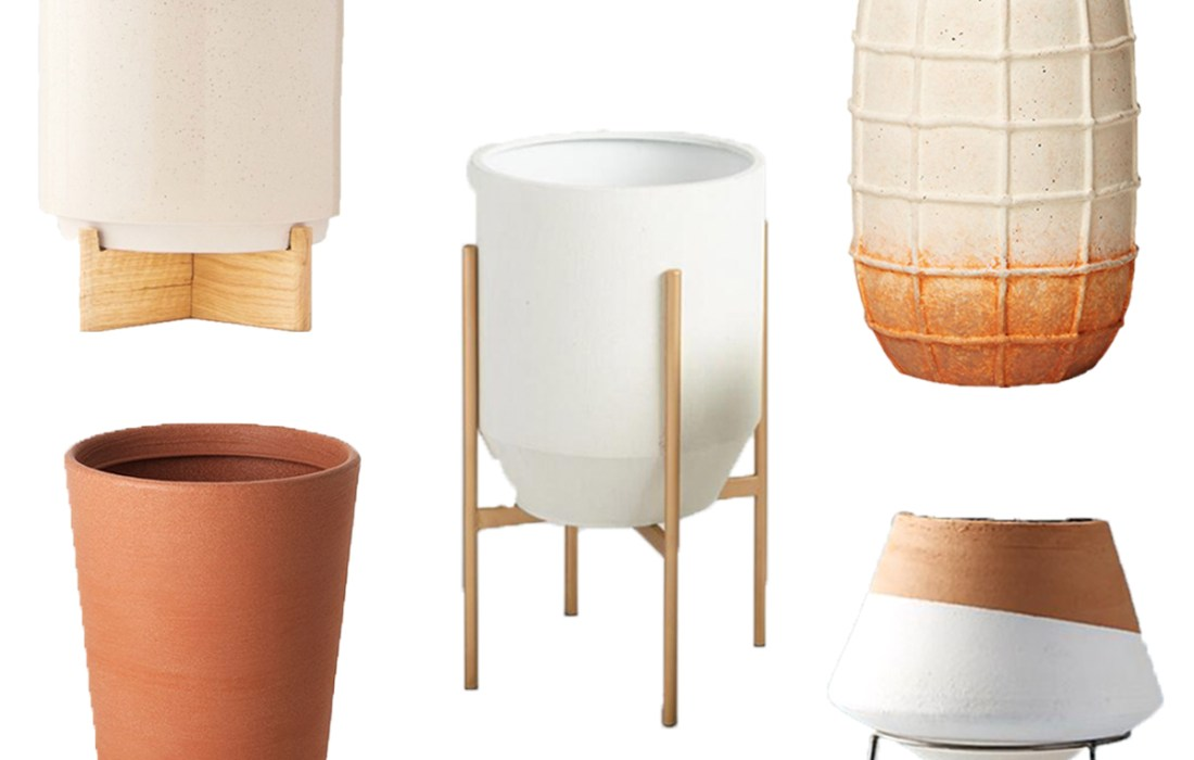 Large N' in Charge: Modern, Sexy Pots and Planters Under $100
