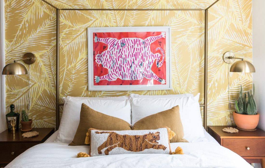 The Luxe Lifestyle Master Bedroom Reveal: Jessica Brigham » Magazine Ready For Life