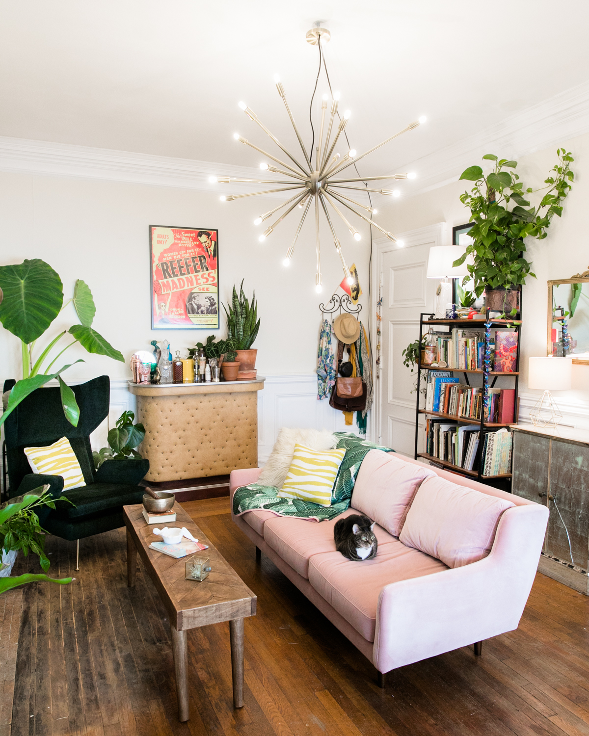 Image of: How To Turn Any Hardwired Light Fixture Into A Plug In Jessica Brigham