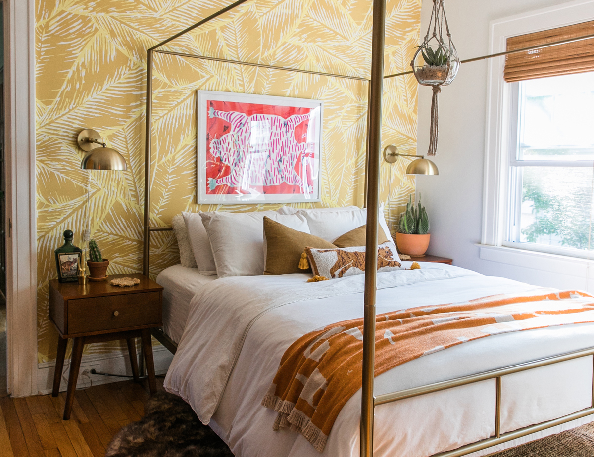 Boho Glam Master Bedroom Refresh | Master Bedroom Ideas | Feng Shui Bedroom | Jessica Brigham | Magazine Ready for Life | www.jessicabrigham.com