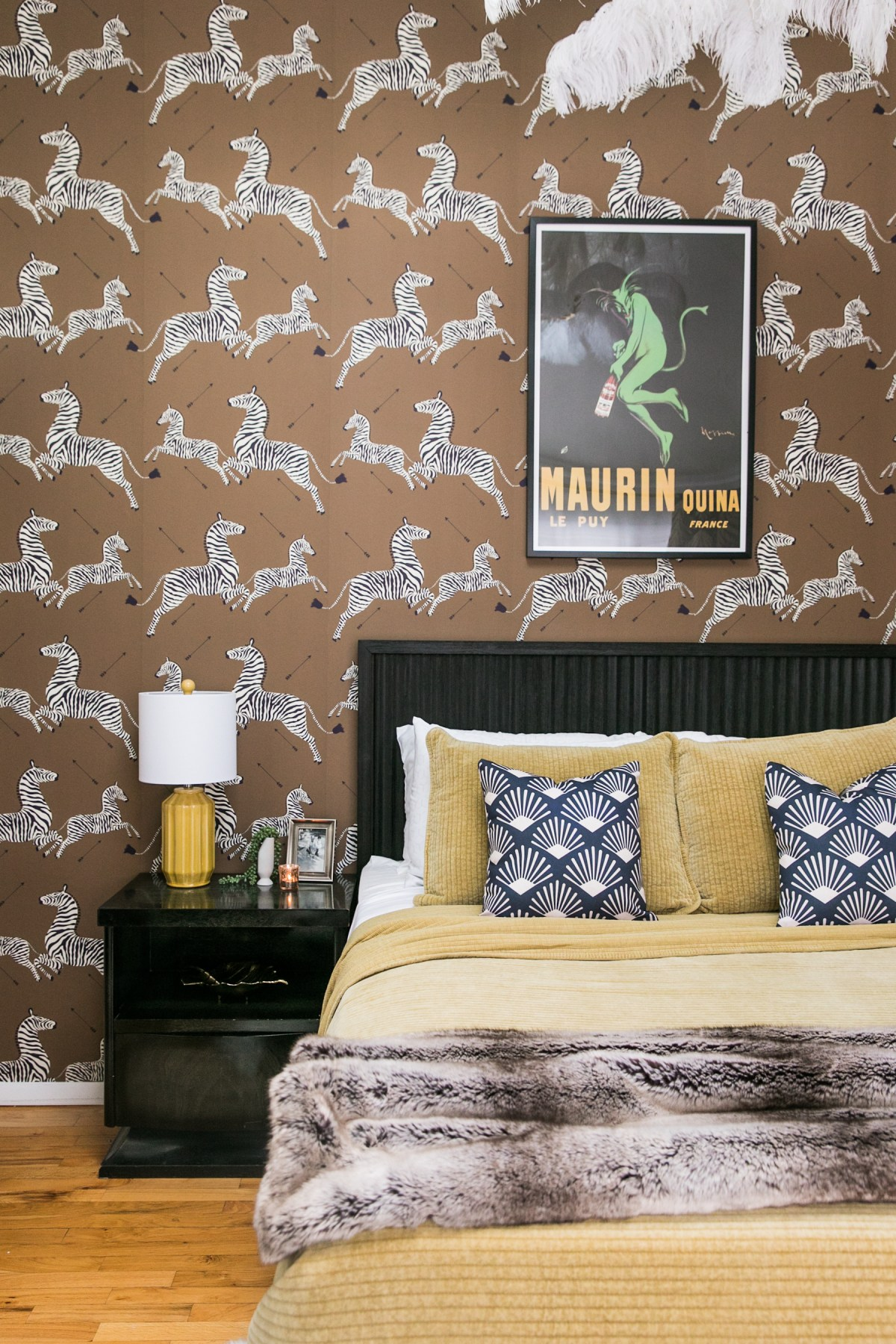 Hollywood Regency Glam Guest Room REVEAL | Guest Room Decor Ideas | Luxe & Bold Interiors | Striking Interiors | JessicaBrigham.com