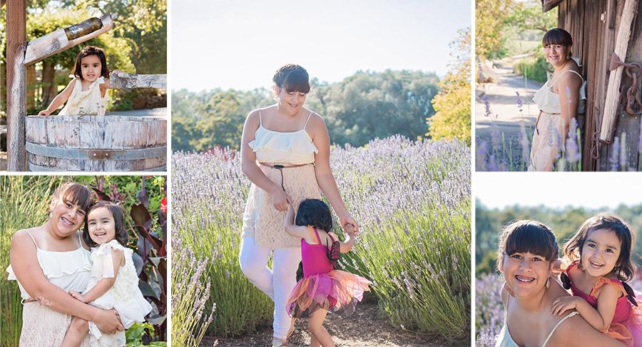Santa Rosa, California, Lavender Field, Child Photographer