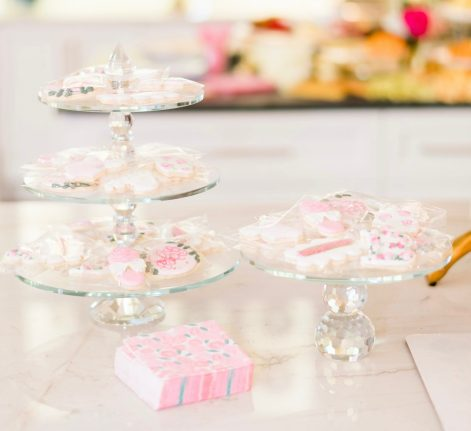 Cute Pink Baby Shower Ideas featured by top Houston lifestyle blogger and expecting mom, Jessica Crum. | Pink Baby Shower by popular Houston motherhood blogger, Jessica Crum: image of pink baby shower cookies by Sugar Baby Cookies.