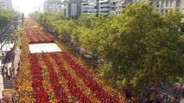 Vía Catalana, 2014