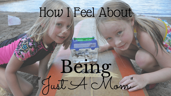 "How I Feel About Being ""Just A Mom"""