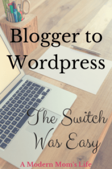Blogger To WordPress - The Switch Was Easy