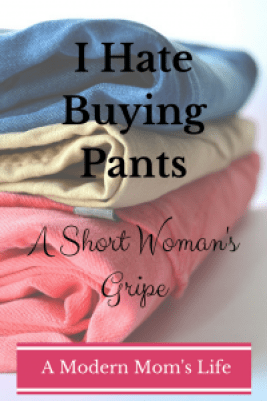 I Hate Buying Pants: A Short Woman's Gripe