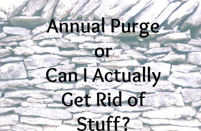 Annual Purge