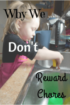 Why We Don't Reward Chores