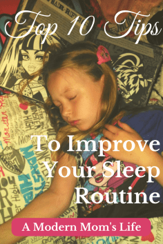Top 10 Tips To Improve Your Sleep Routine