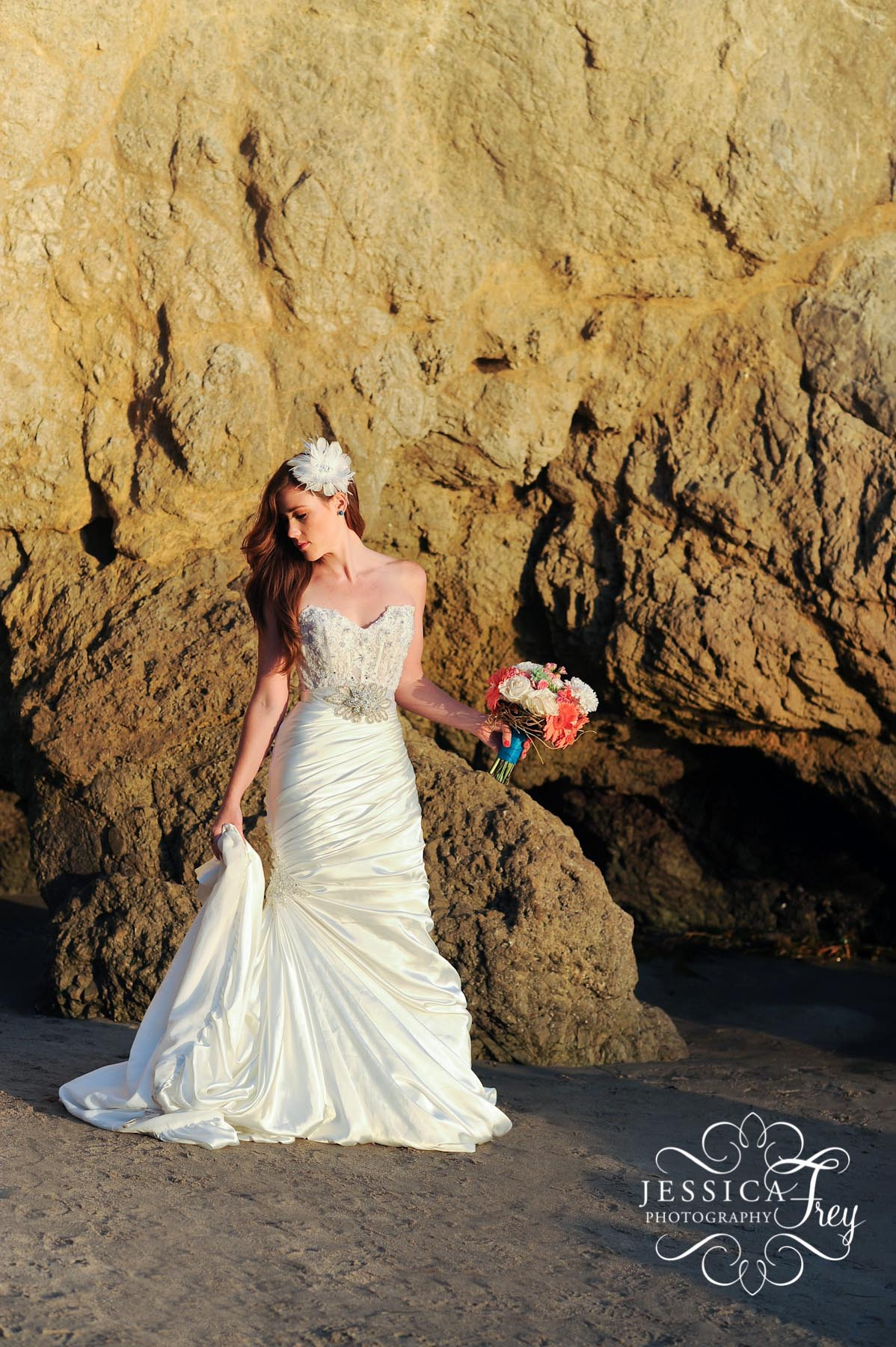 The Little Mermaid Inspired Teal Amp Coral Wedding Austin