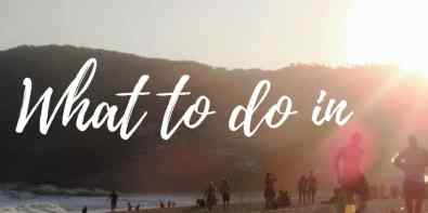 What to do in Rio