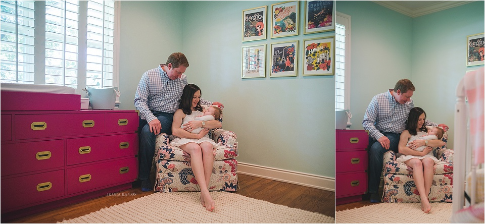 Dallas TX Lifestyle Newborn Session