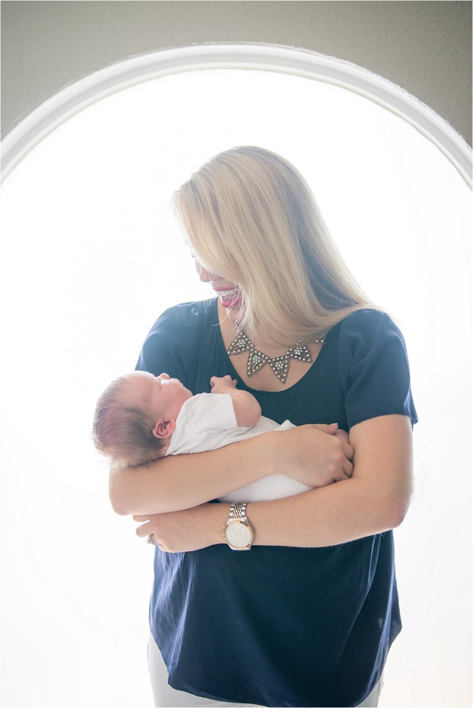Dallas TX Lifestyle Newborn Photography