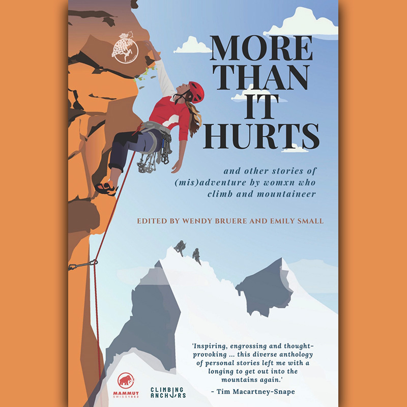 More Than It Hurts book featuring writing by Jessica Hepburn