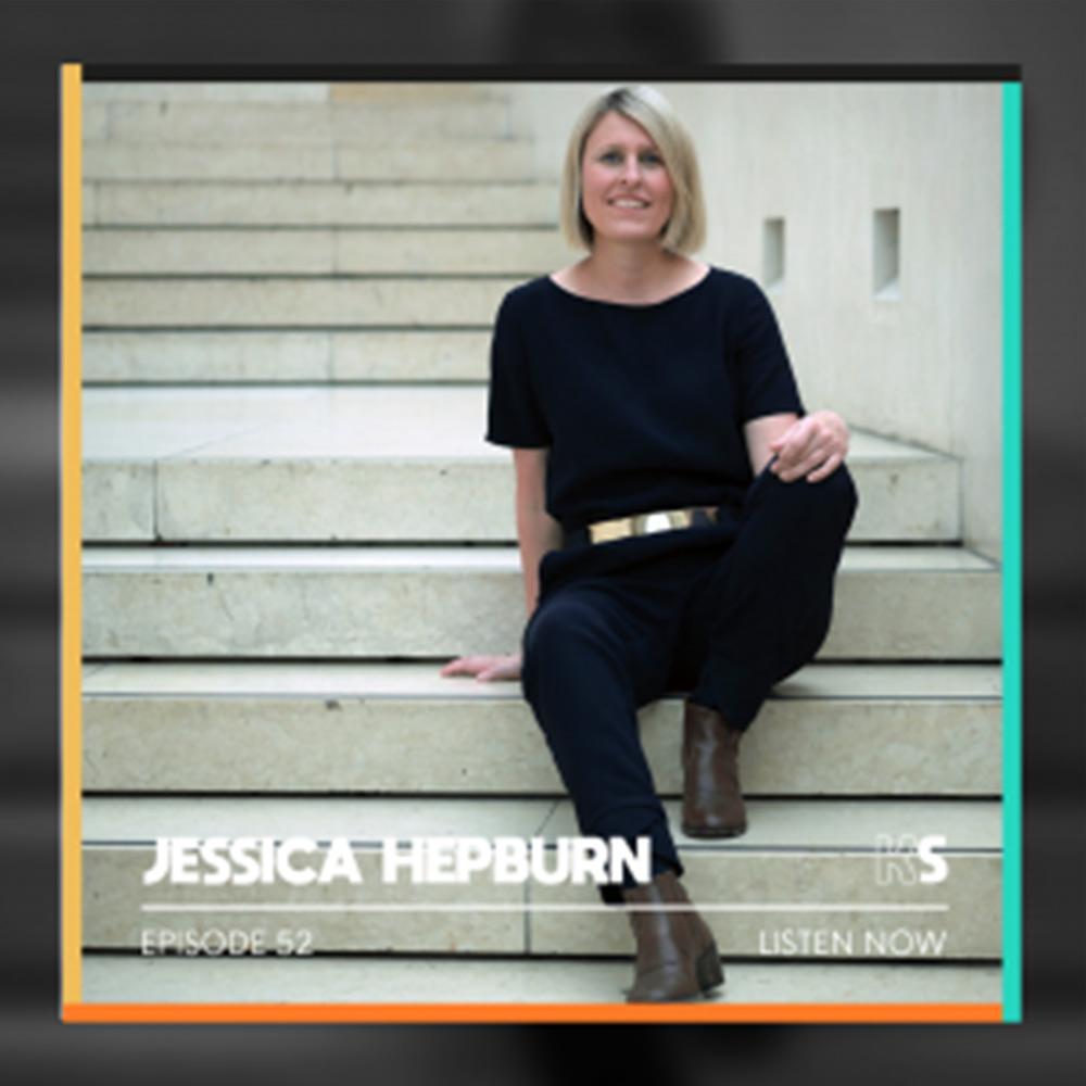 Jessica Hepburn appearing on BBC Breakfast News