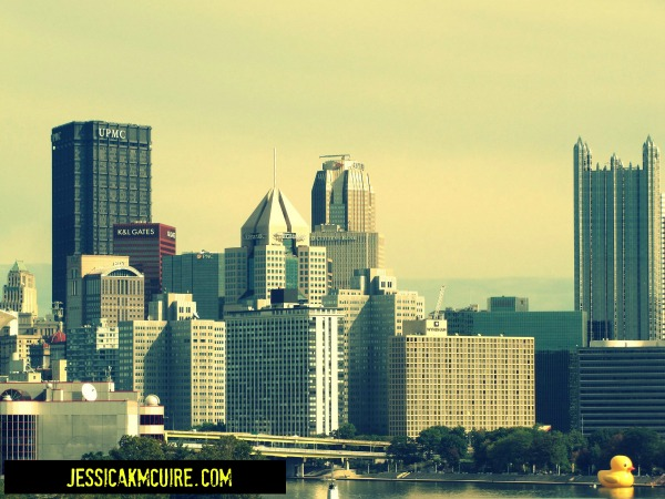 pittsburgh skyline rubberduck jkmcguire