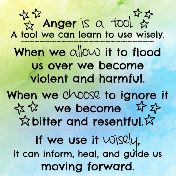 anger is a tool jkmcguire
