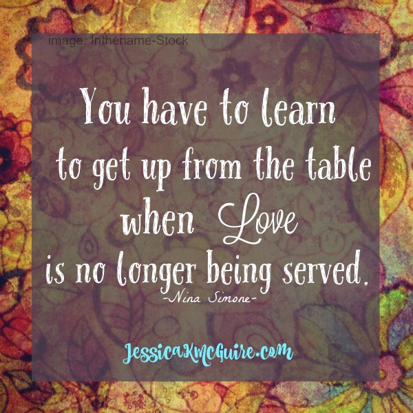 nina simone quote love no longer being served