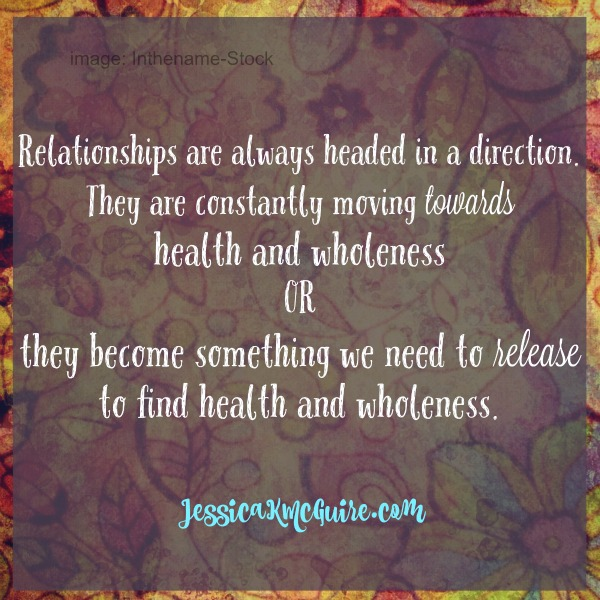 relationships are constantly moving jkmcguire