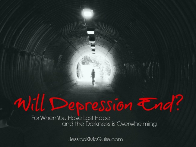 will depression end jessicakmcguire