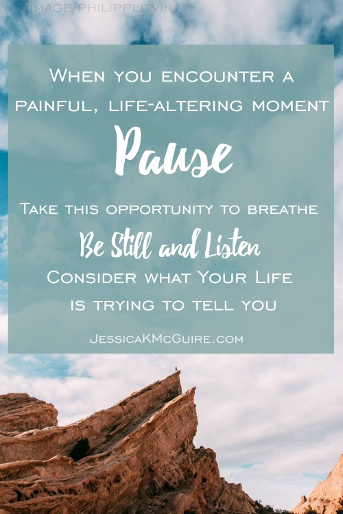be still and listen to your life jkmcguire