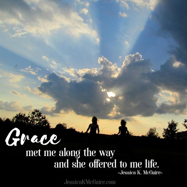 grace met me along the way jessicakmcguire
