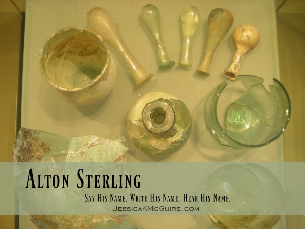 alton sterling say his name hear his name