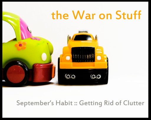 getting rid of clutter 512x409 The War on Stuff :: getting rid of clutter