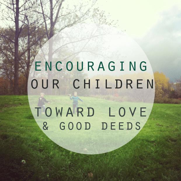 encouraging-our-children