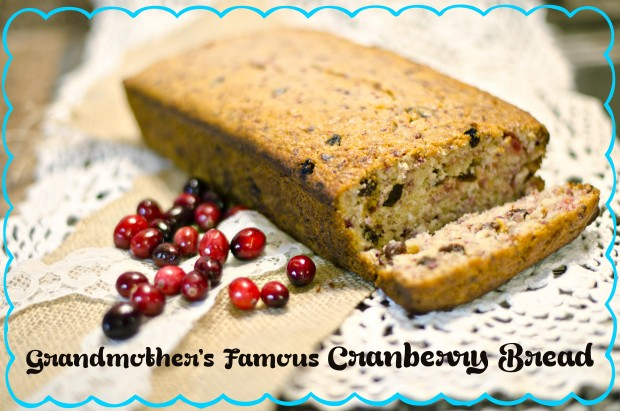 Grandmother's Famous Cranberry Bread