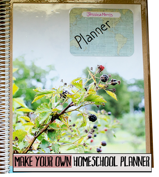 make your own homeschool planner
