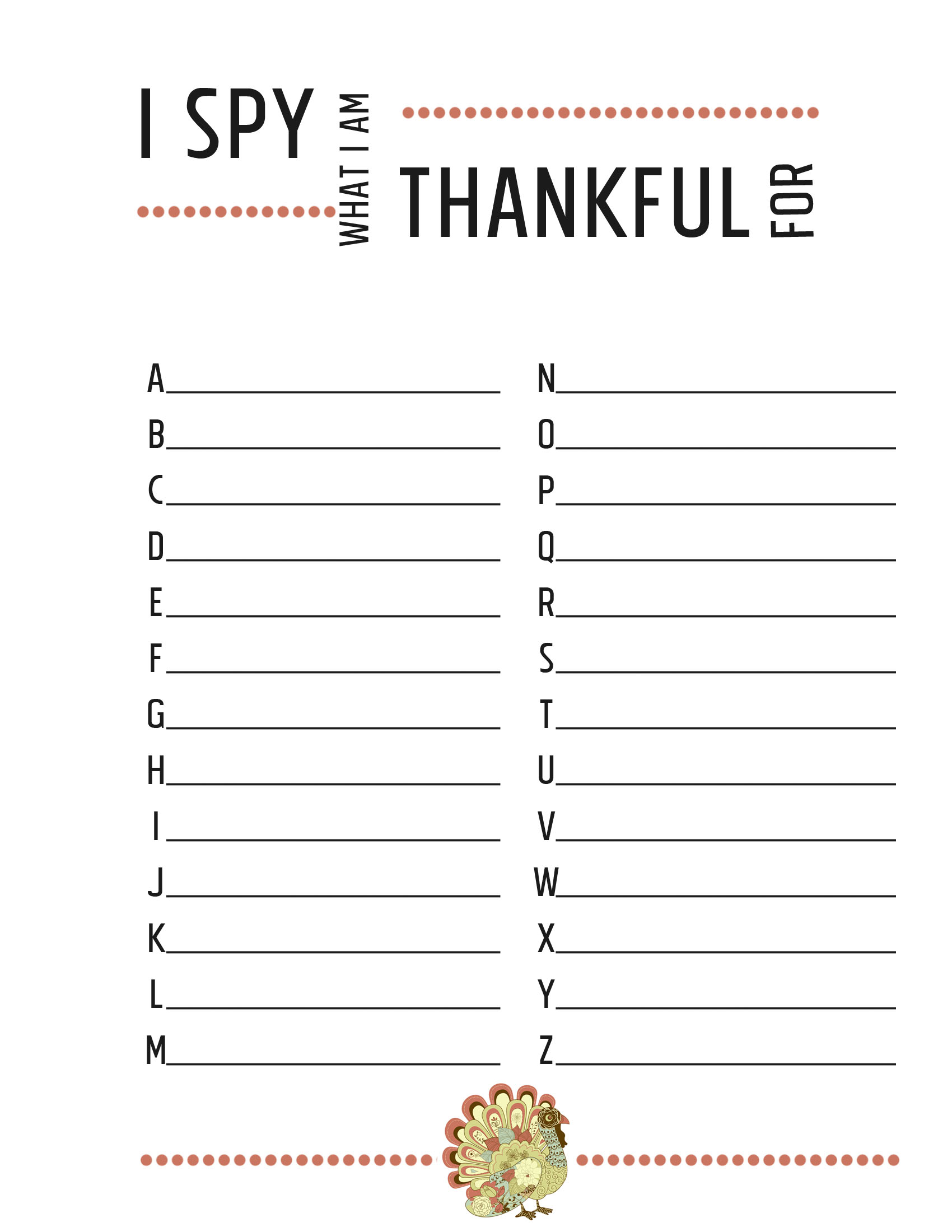 Free Printable Spy Worksheet