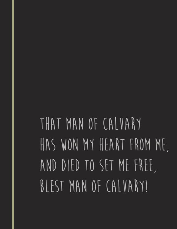 Hymn lyrics That Man of Calvary