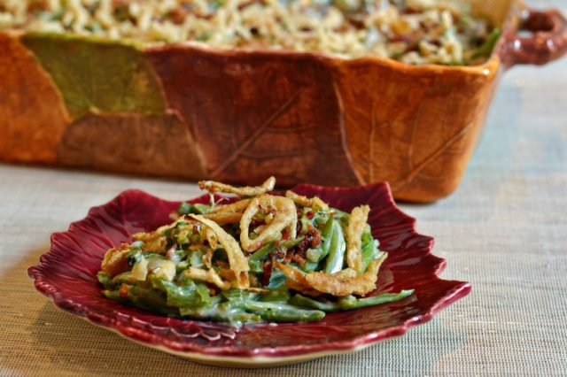 Any time I make my Grandma's Green Bean Casserole people beg me for the recipe. It's SO good!