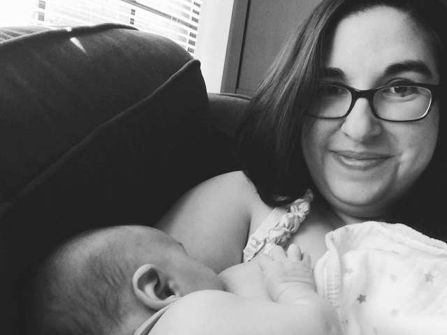 My breastfeeding experience, the second time around