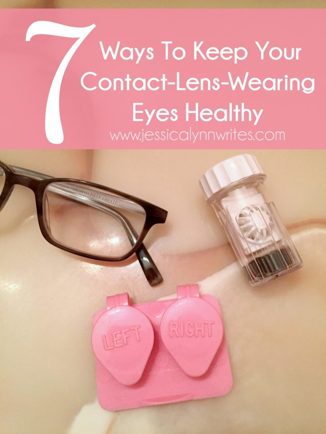 Contact Lens Healthy Eyes feature