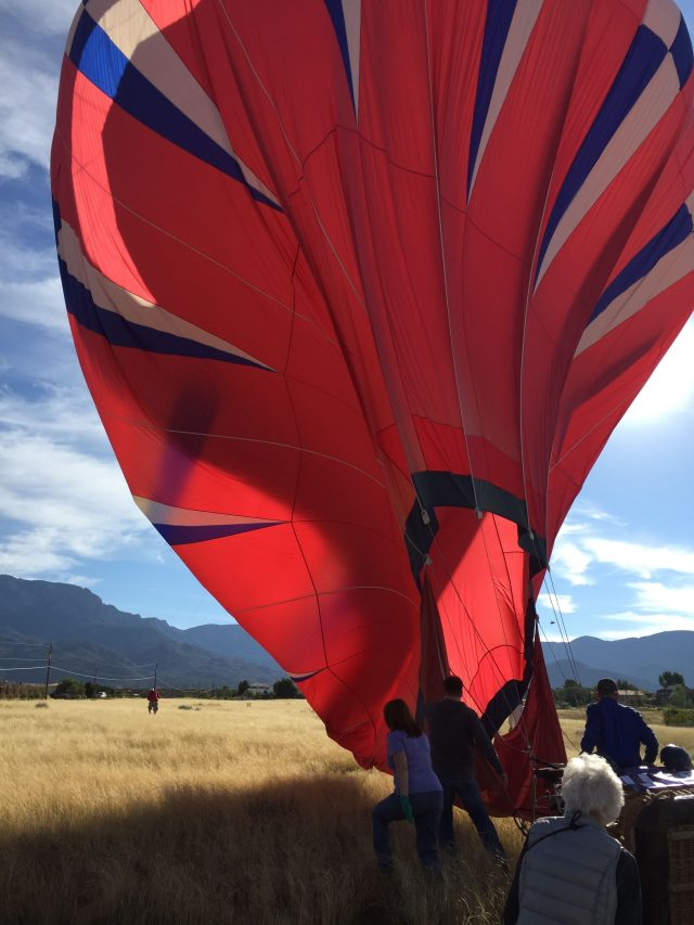 Going balloon chasing during the Balloon Fiesta isn't just fun; it's exhilarating, adventurous, and helpful. Add this as a MUST-DO to your bucket list!